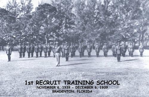 First recruit training class